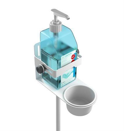 Adam hall coronavirus covid dispenser