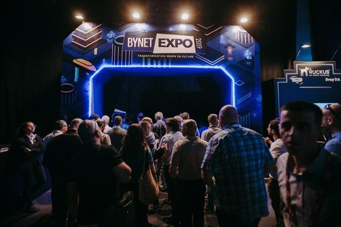 Bynet Expo Crowd