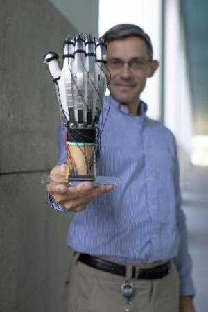 Herbert Shea with glove