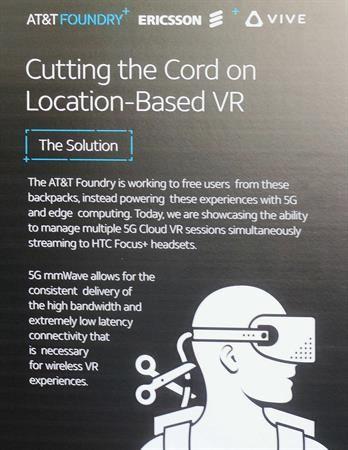 5G VR Sign