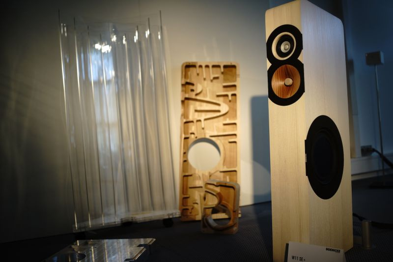 Aylett_The stunning lookig, and sounding Boenicke Audio speakers