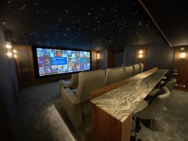 Best Media Room Level II Winner - Perfect Integration